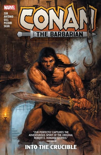 Conan The Barbarian by Jim Zub Vol. 1 – Into The Crucible (TPB) (2021)