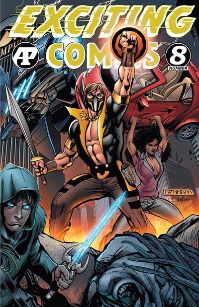 Exciting Comics #8 (2021)