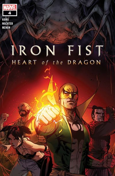 Iron Fist – Heart Of The Dragon #4 (2021)
