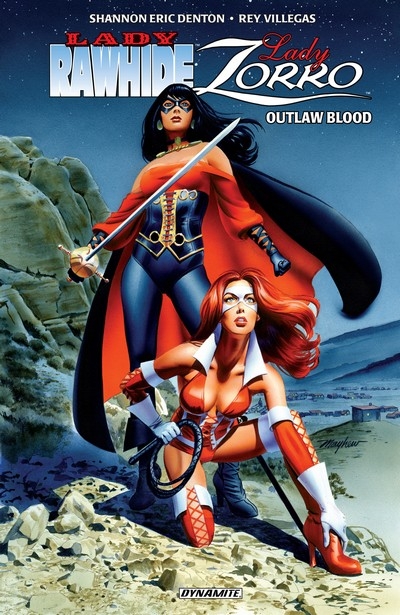 Lady Rawhide – Lady Zorro Vol. 1 – Outlaw Blood (TPB) (2016)