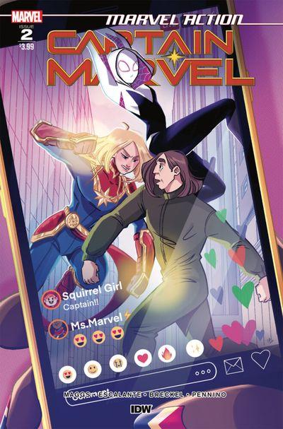 Marvel Action – Captain Marvel #2 (2021)