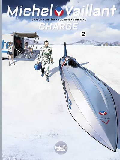 Michel Vaillant #2 – Charge (2021, 2nd edition)
