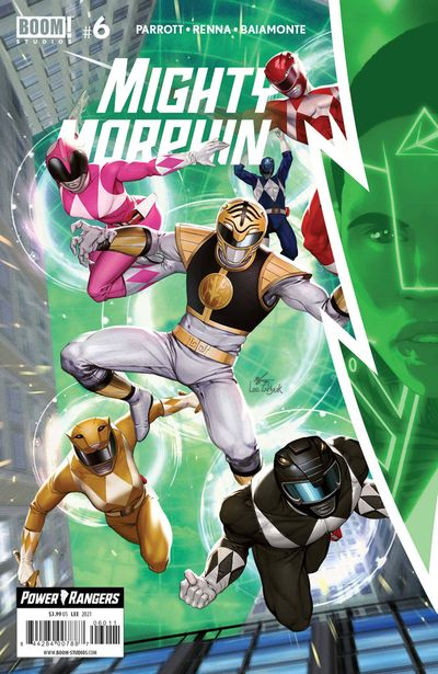 Mighty Morphin #6 (2021)