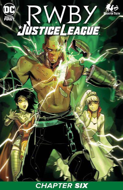RWBY – Justice League #6 (2021)