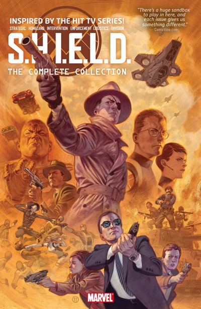 S.H.I.E.L.D. By Mark Waid – The Complete Collection (2021) (Fan Made Omnibus)
