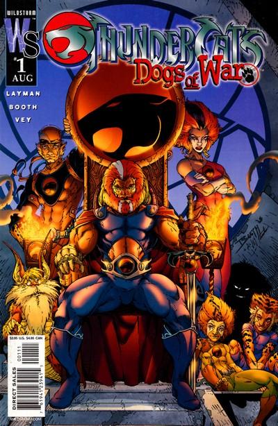 Thundercats – Dogs Of War #1 – 5 (2003)