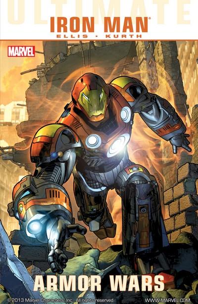 Ultimate Comics Iron Man – Armor Wars (TPB) (2010)