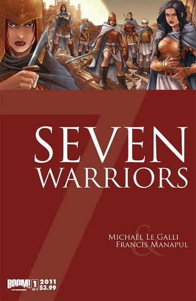 7 Warriors #1 – 3 (2011-2012)
