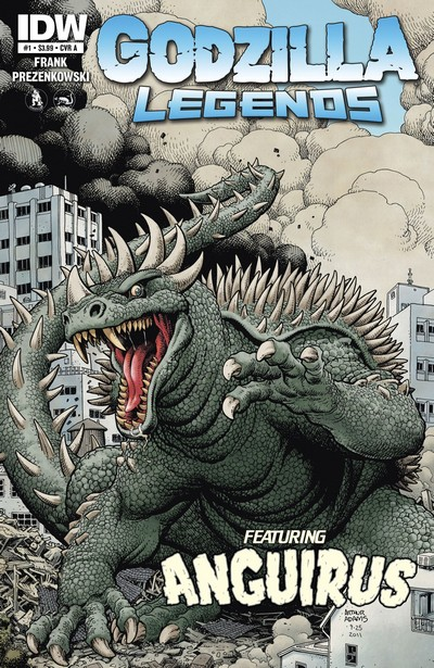Godzilla Legends #1 – 5 (2011-2012)