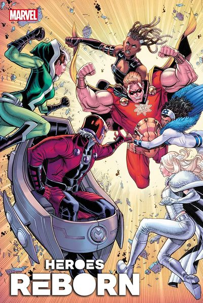 Heroes Reborn – Magneto & The Mutant Force #1 (2021)