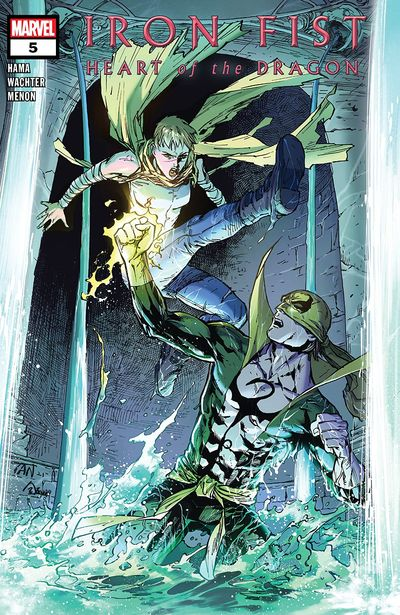 Iron Fist – Heart Of The Dragon #5 (2021)