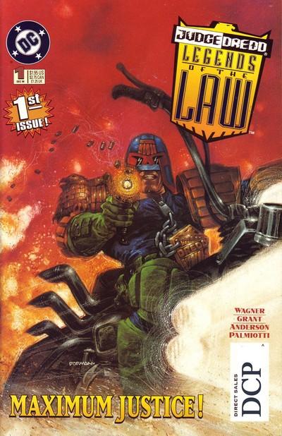 Judge Dredd – Legends Of The Law #1 – 13 (1994-1995)