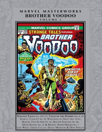 Marvel Masterworks – Brother Voodoo Vol. 1 (2021)