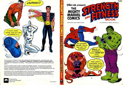 Stan Lee Presents – The Mighty Marvel Comics Strenght and Fitness Book (1976)