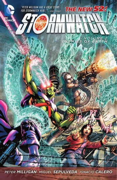 Stormwatch Vol. 2 – Enemies of Earth (TPB) (2013)