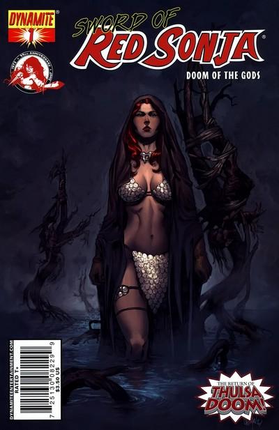 Sword of Red Sonja – Doom of the Gods #1 – 4 (2007)