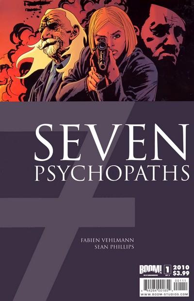 7 Psychopaths #1 – 3 (2010)