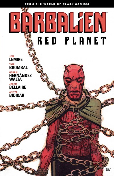 Barbalien – Red Planet (TPB) (2021)