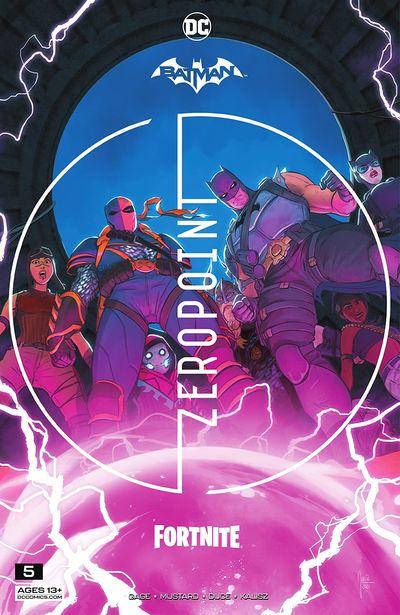 Batman – Fortnite – Zero Point #5 (2021)