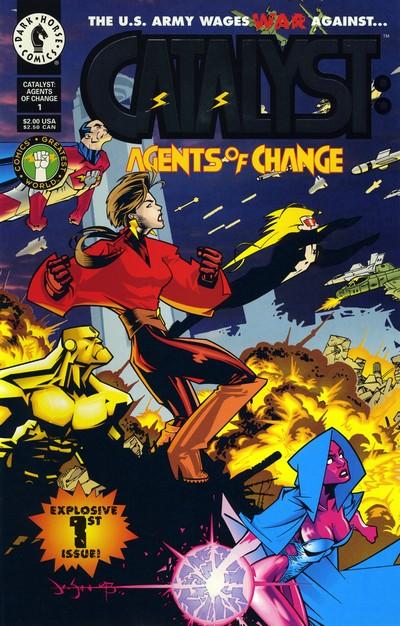 Catalyst – Agents of Change #1 – 7 (1994)