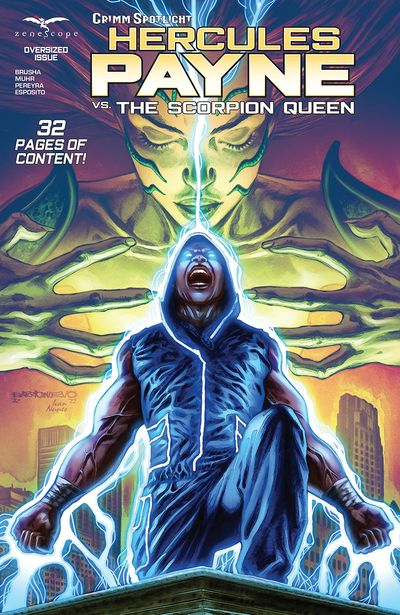 Grimm Spotlight – Hercules Payne vs Scorpion Queen #1 (2021)