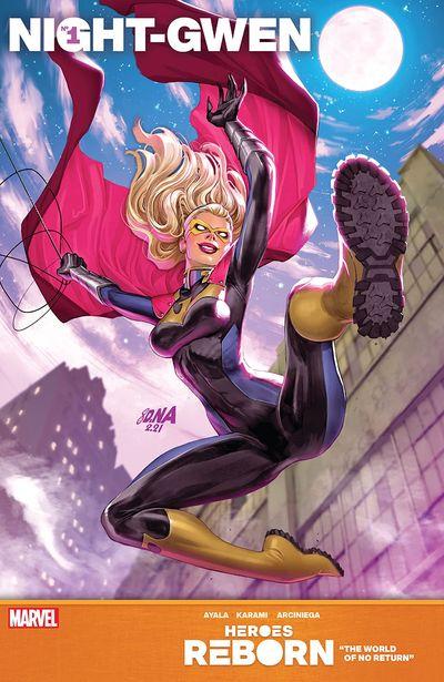 Heroes Reborn – Night-Gwen #1 (2021)