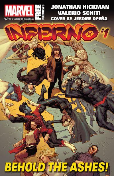Marvel Previews #13 (July for September 2021)
