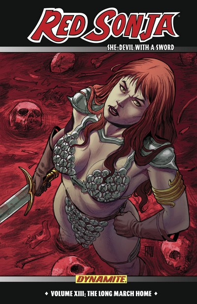 Red Sonja Vol. 13 – The Long March Home (TPB) (2013)