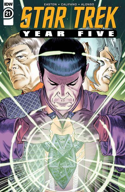 Star Trek – Year Five #21 (2021)