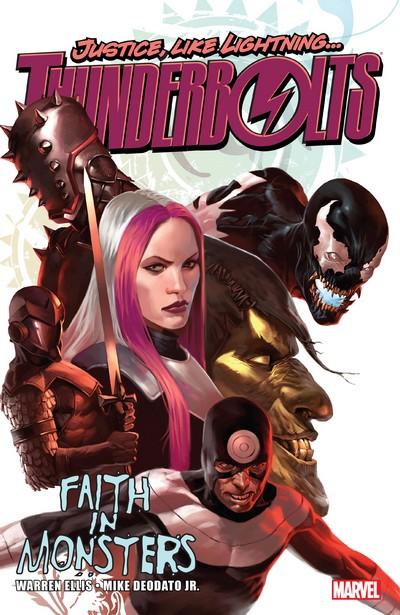 Thunderbolts by Warren Ellis Vol. 1 – Faith in Monsters (2008)