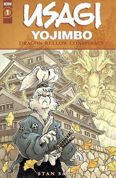 Usagi Yojimbo – The Dragon Bellow Conspiracy #1 (2021)