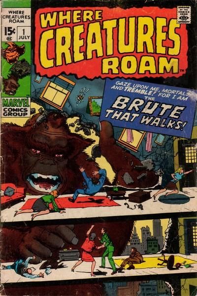 Where Creatures Roam #1 – 8 (1970-1971)