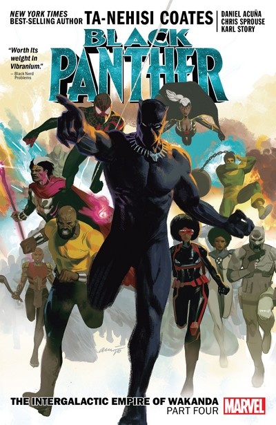 Black Panther Book 9 – The Intergalactic Empire Of Wakanda Part Four (2021)