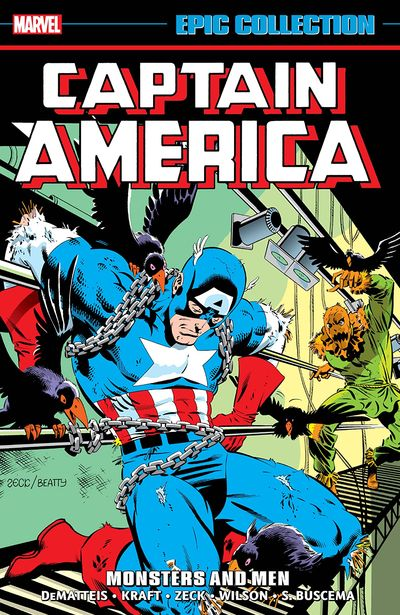 Captain America Epic Collection Vol. 10 – Monsters and Men (2020)