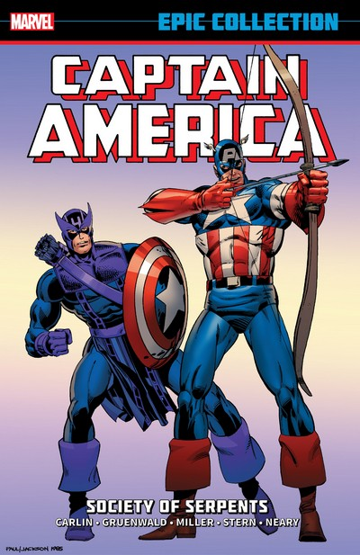 Captain America Epic Collection Vol. 12 – Society Of Serpents (2014)