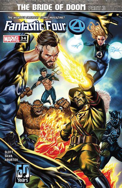 Fantastic Four #34 (2021)