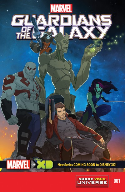 Marvel Universe Guardians of the Galaxy #1 – 4 (2015)