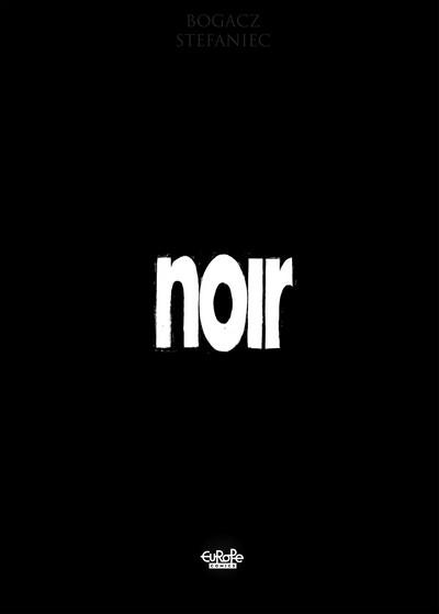 Noir (2017) (Europe Comics)