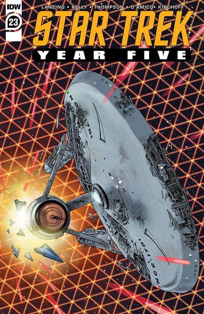 Star Trek – Year Five #23 (2021)