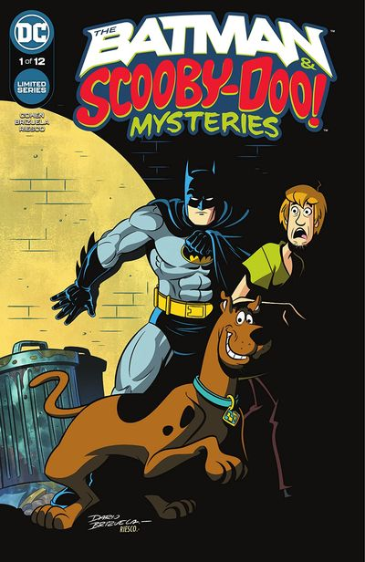 The Batman and Scooby-Doo Mysteries #1 – 4 + TPB (2021)