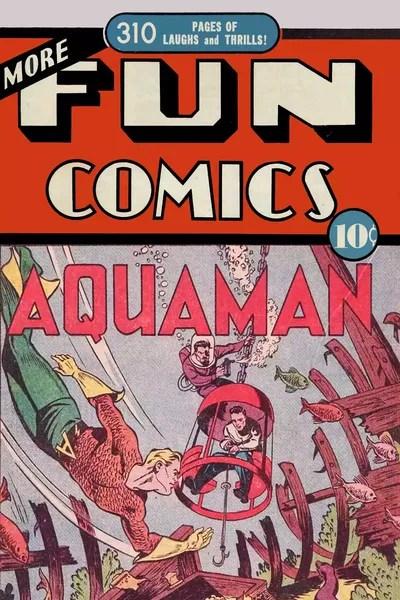More Fun Comic The Collected Aquaman