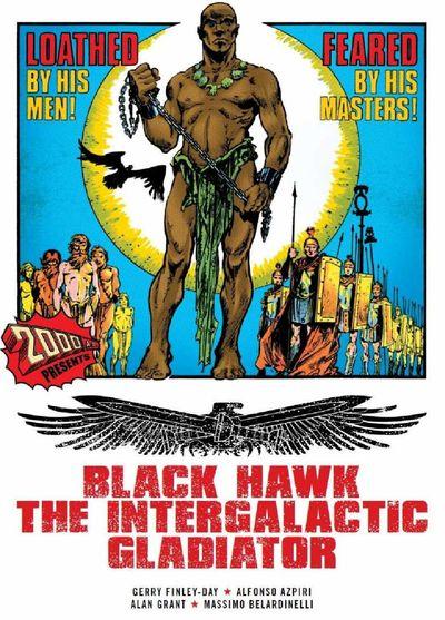 Black Hawk The Intergalactic Gladiator (TPB) (2011)