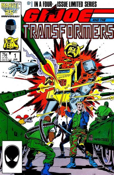 G.I. Joe and the Transformers #1 – 4 (1987)