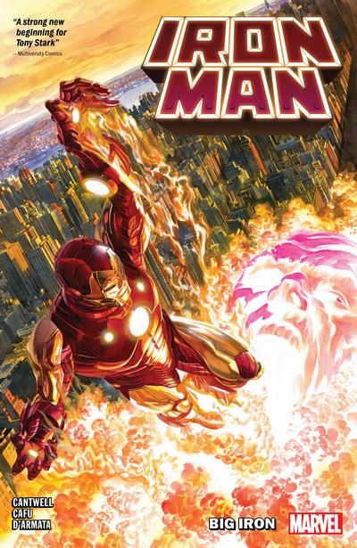 Iron Man – Big Iron (TPB) (2021)
