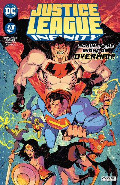 Justice League Infinity #2 (2021)