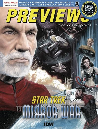 Previews #395 (August for October 2021)