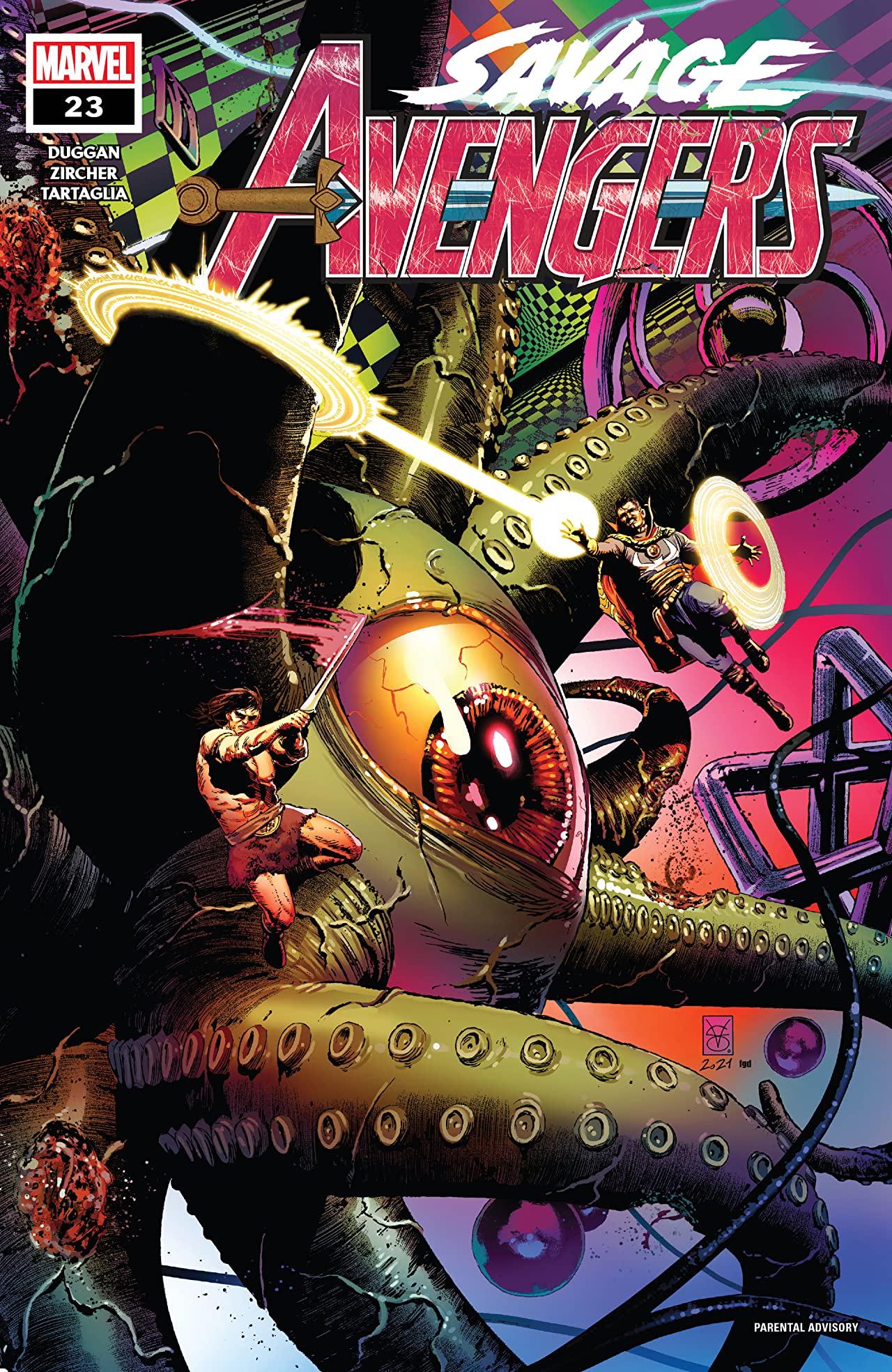Savage Avengers #23 (2021)