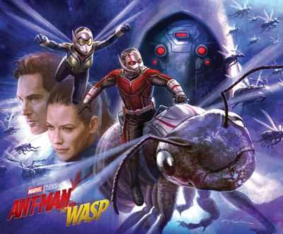 The Art of Ant-Man and the Wasp (2018)