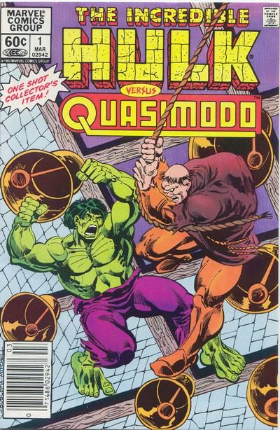 The Incredible Hulk vs Quasimodo (1983)