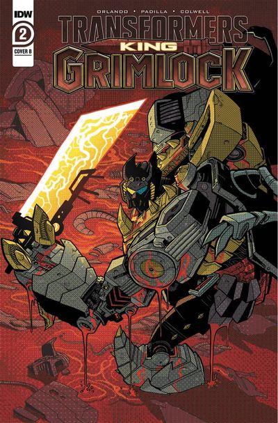 Transformers – King Grimlock #2 (2021)